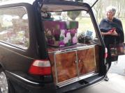 Bereavement cardboard coffin Jo2 - Copy